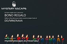 Bono regalo - Cumpleaños