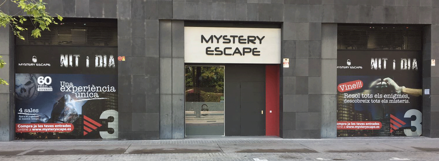 Escape Room de la serie Nit i Dia
