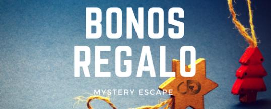 Bonos regalo Mystery Escape: la opción perfecta para Navidad o Reyes