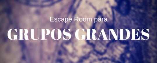 Escape room para grupos grandes en Barcelona