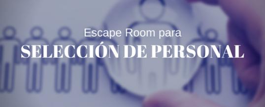 Room Escape para selección de personal