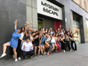 escape room grupos grandes barcelona