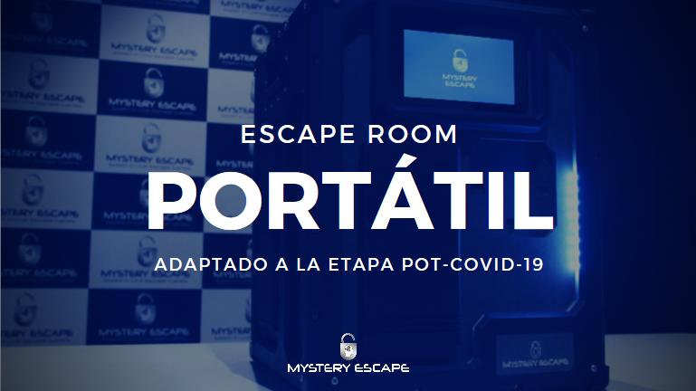 mystery escape box portatil